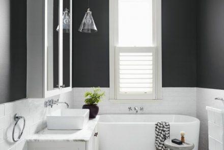 décoration intérieur noir et blanc