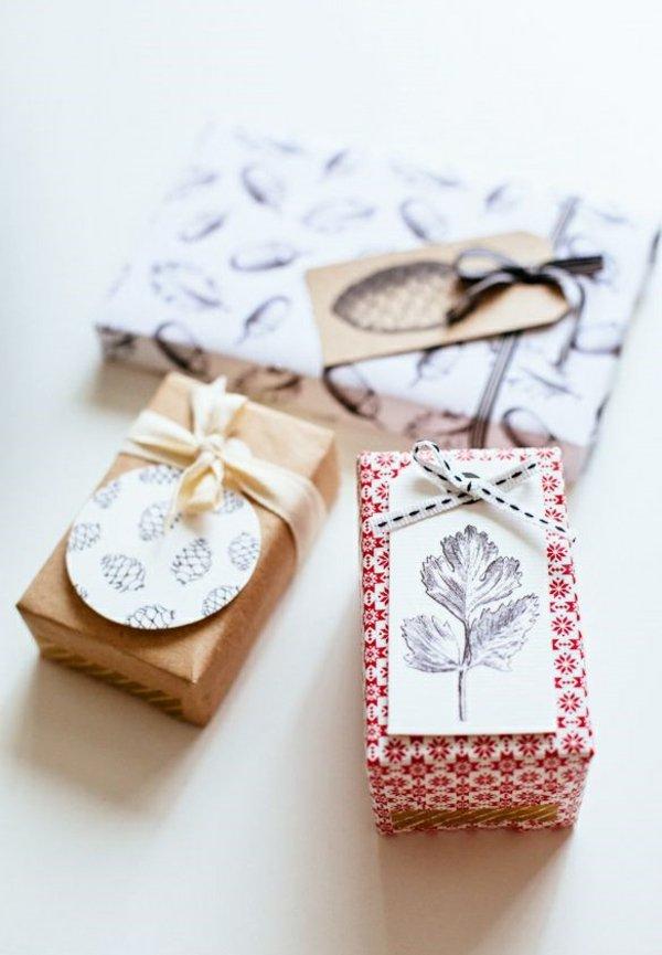 idée emballage cadeaux noël original