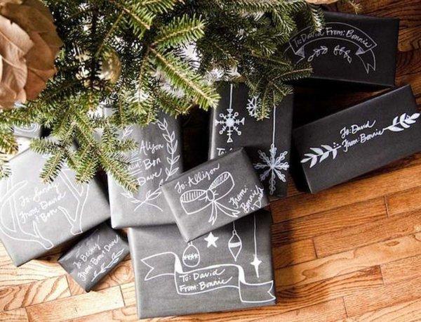 idée emballage cadeaux noel original