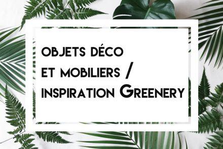 Accessoires déco greenery