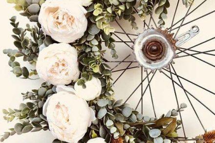 comment décorer son jardin avec un velo