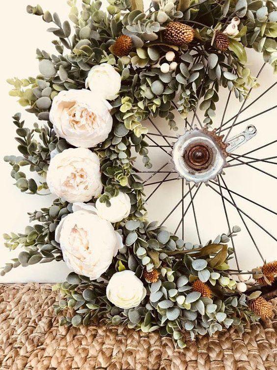 Comment décorer son jardin en recyclant son velo | Studio Fan ...