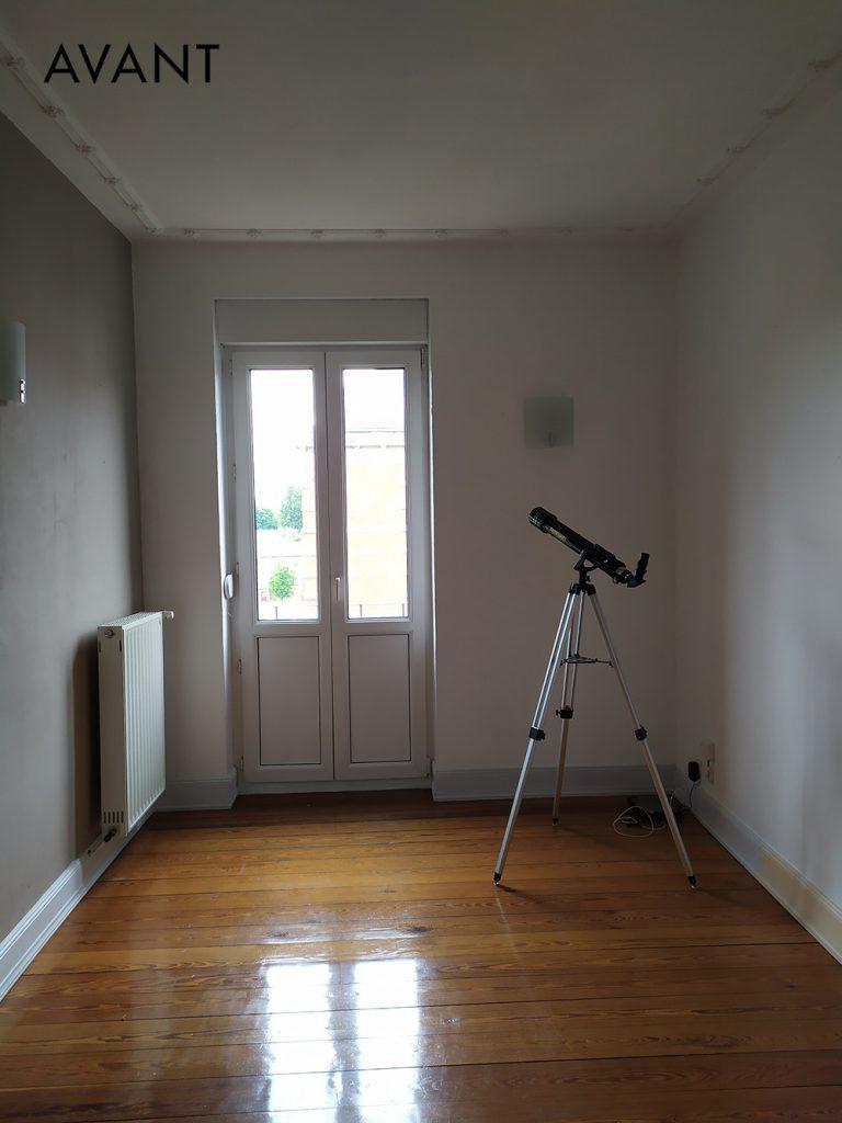 photos avant le projet de décoration d'intérieur
