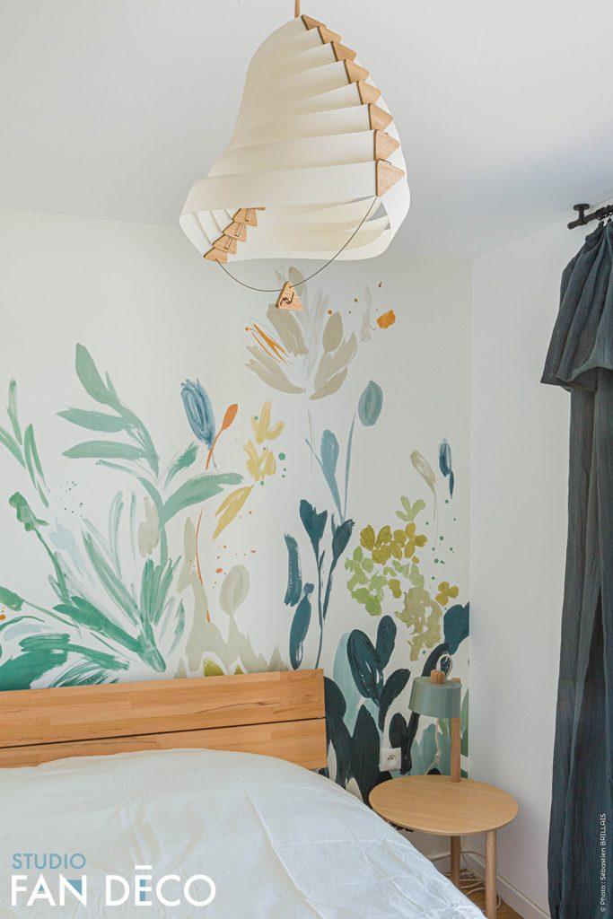 Chambre avec décoration éco responsable Strasbourg